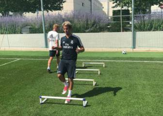 Mystery solved: Fabio Coentrao finally appears in Madrid