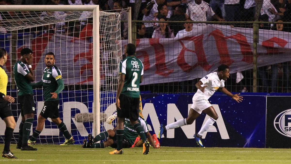 Sigue el Liga de Quito – Deportivo Cali en vivo online, partido de octavos de final de la Copa Sudamericana. Hoy, 22 de agosto, desde Quito, en As.com.