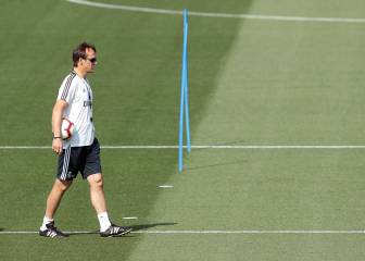 8 days for Lopetegui to resolve 8 players' futures at Madrid