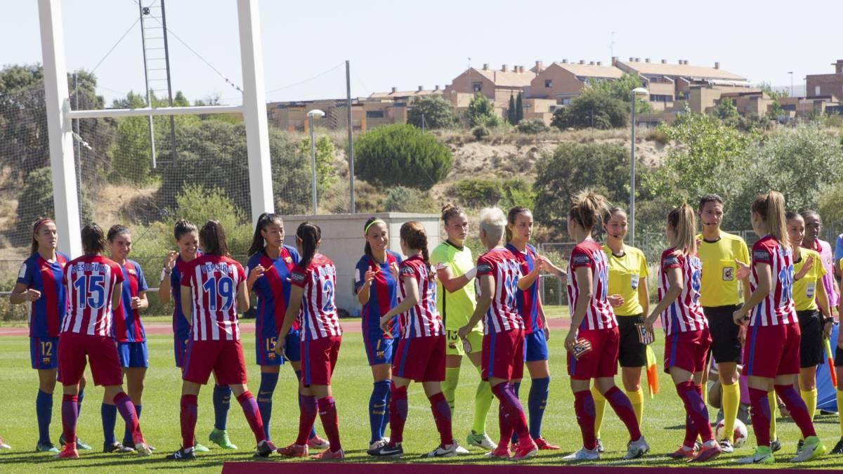 Barcelona - Atlético de la Liga Iberdrola