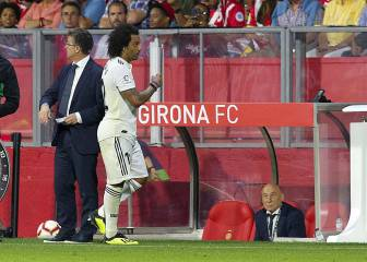 Marcelo on his substitution: