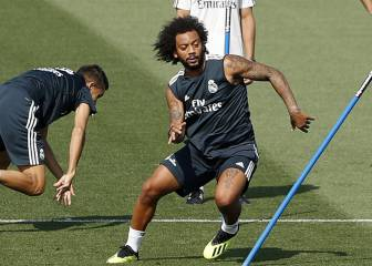 Marcelo the only starter against Girona to train as he tries to regain fitness
