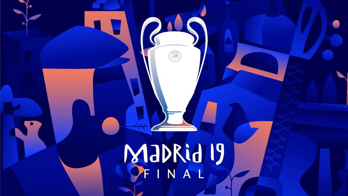 Uefa unveil Madrid final Champions League poster