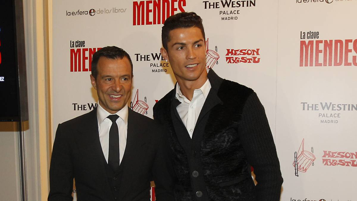 "Mendes explodes: ""ridiculous"" that Cristiano didn't win award"