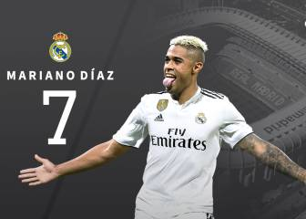 Mariano will inherit Cristiano's number 7 - COPE
