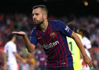 Alba: 'I don't know why I wasn't called up, I never said anything bad about Luis Enrique'