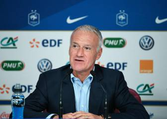 One change in Deschamps' first France list since the World Cup