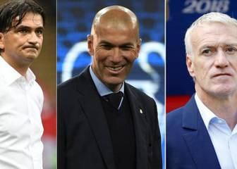 Dalic, Deschamps y Zidane, candidatos a mejor entrenador