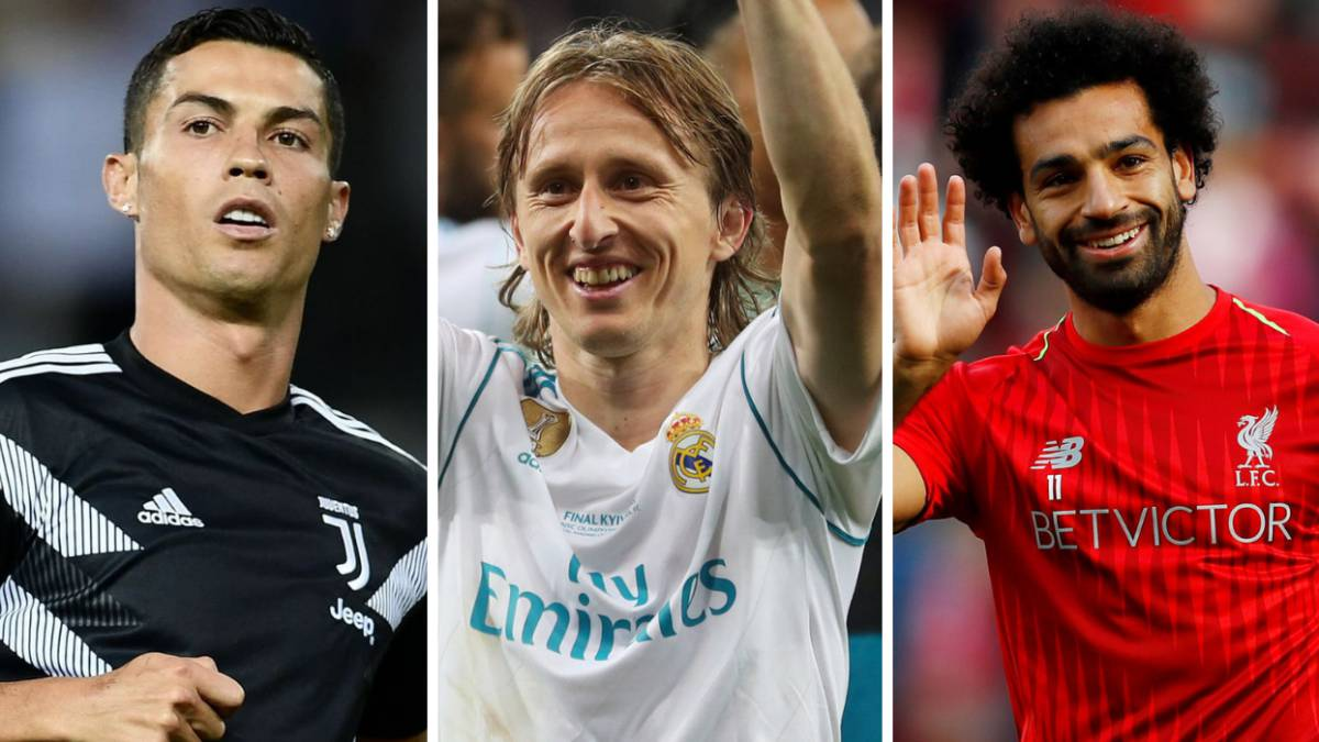 Cristiano, Modric and Mo Salah: finalists for FIFA 'The Best' award