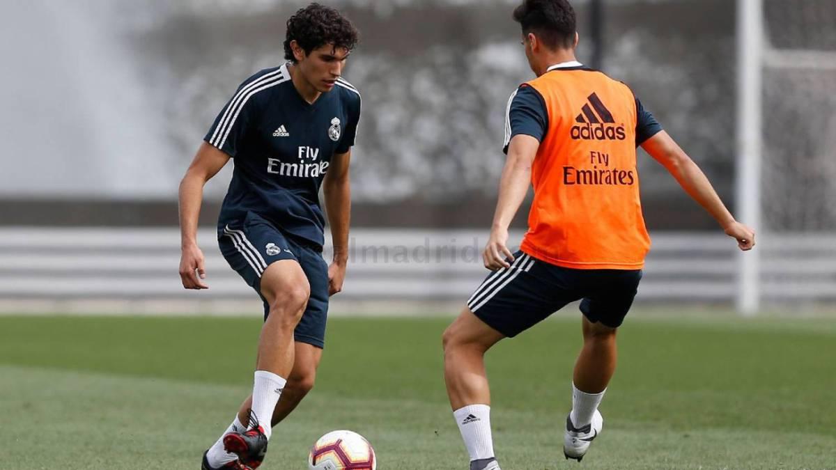 Buenas noticias para Lopetegui: Vallejo se entrena con el grupo