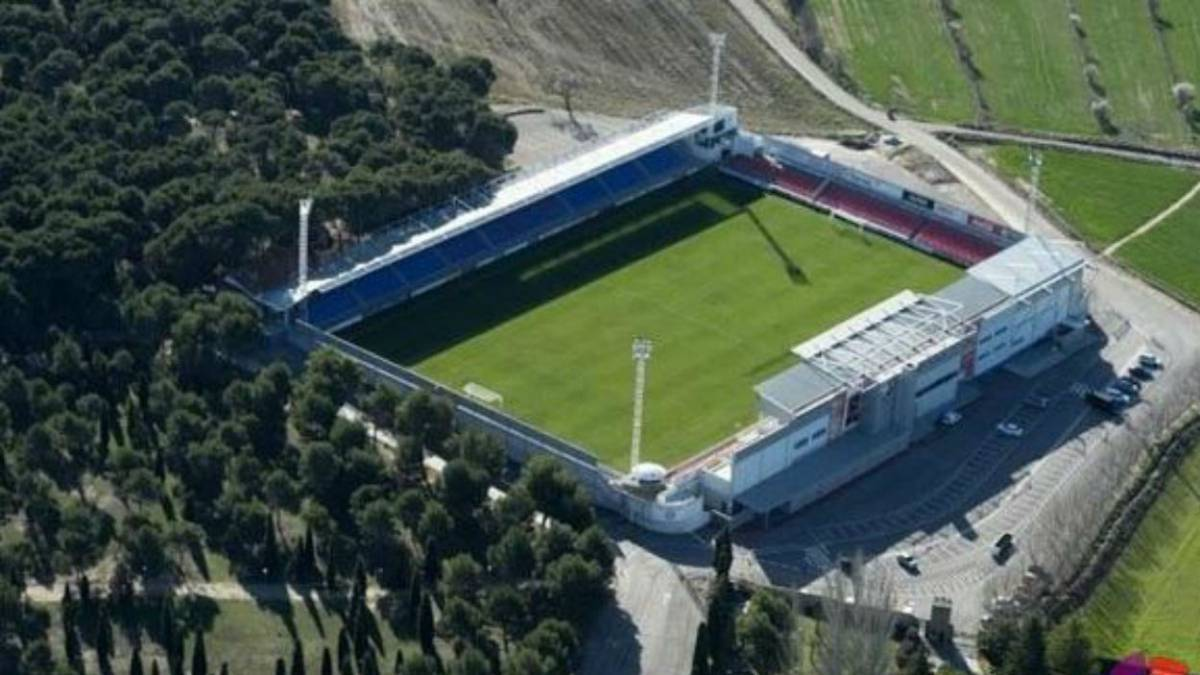 El Alcoraz, estadio del Huesca.