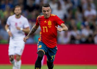 Iago Aspas replaces Diego Costa in Spain squad