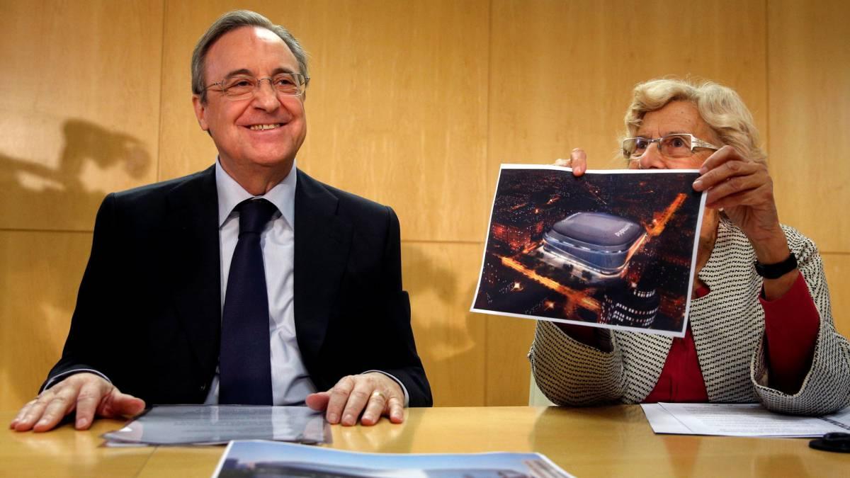Florentino Pérez busca un nuevo Bernabéu.