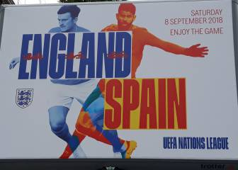 FA poster woes over England - Spain continue