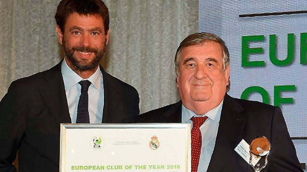 ECA names Real Madrid as European Club of the Year 2018