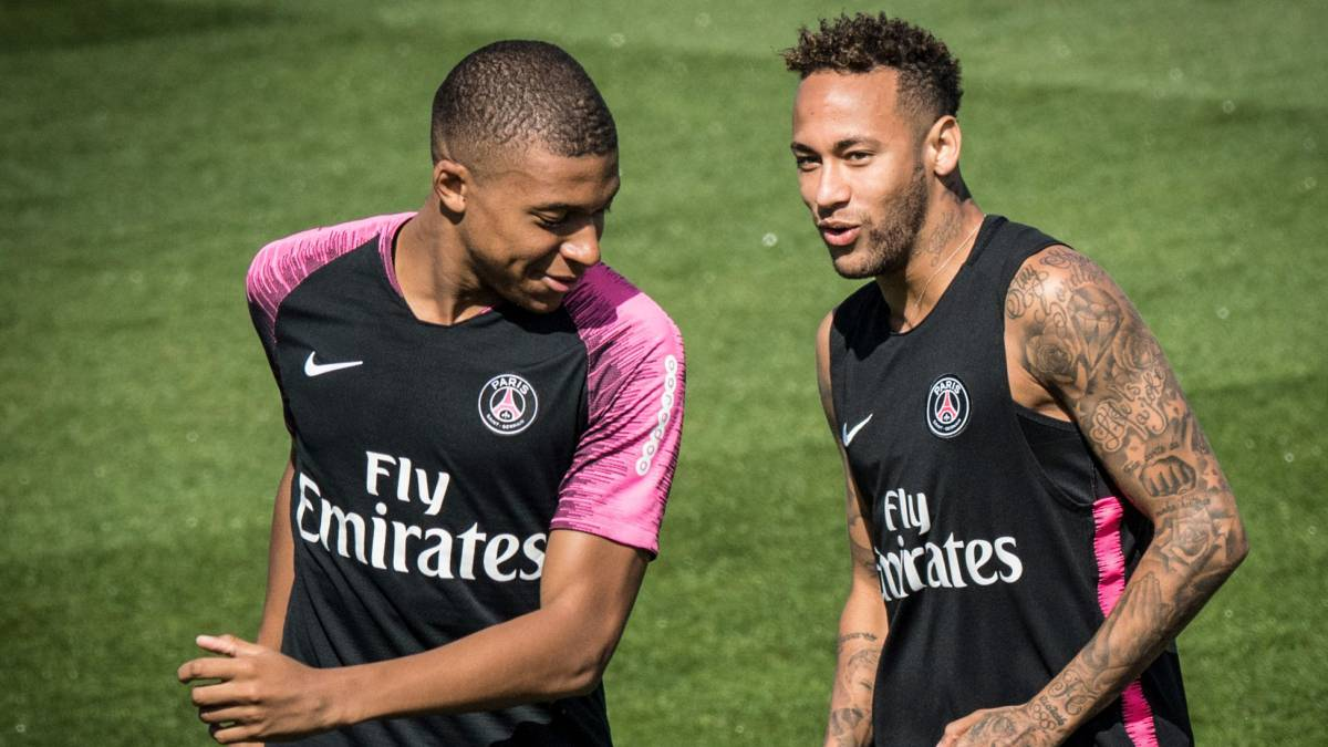Mbappé y Neymar deseo del Real Madrid.