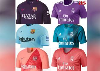 Madrid and Barça, united by third shirt tonal harmony