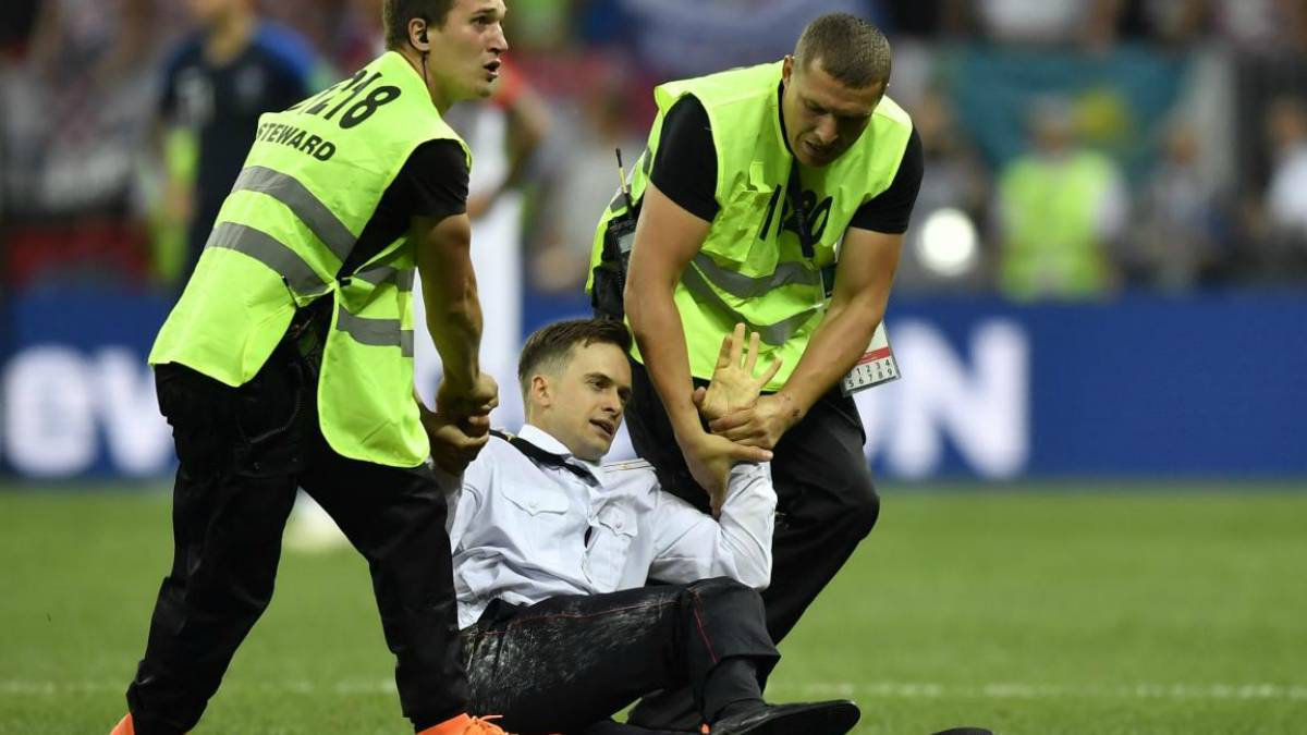 World Cup pitch invader may have been poisoned - Pussy Riot