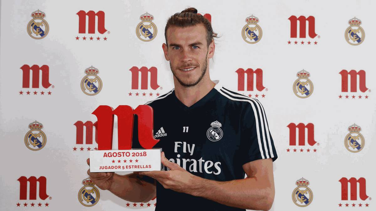 Bale voted Real Madrid's best player of August