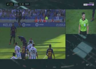 AS referee gives view on Piqué shout for penalty