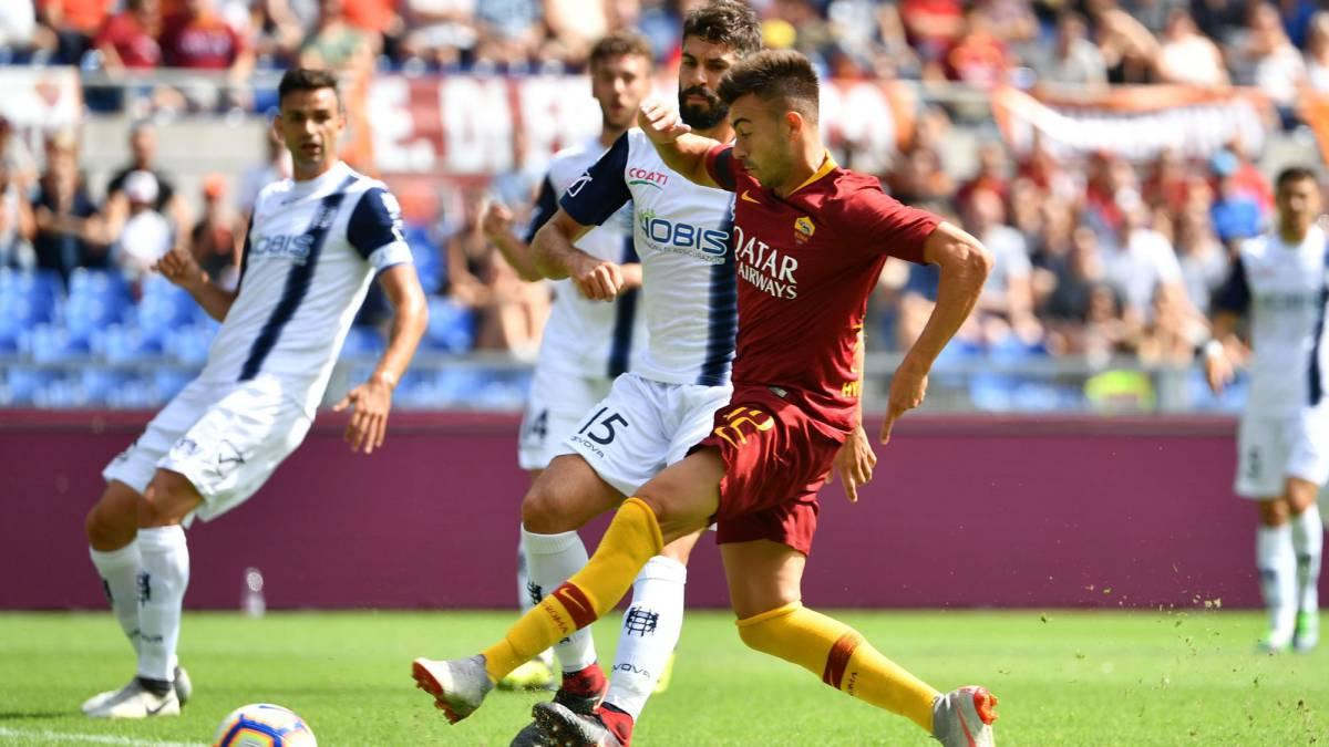 El Roma vuelve a tropezar antes de visitar el Bernabéu