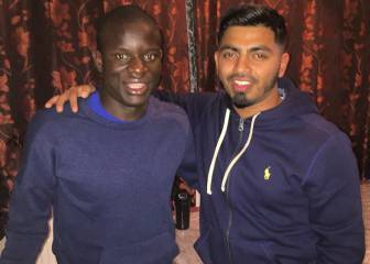 Chelsea's Kanté gives fans a surprise night to remember