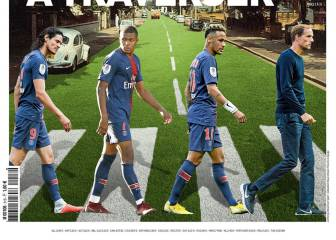 PSG on Abbey Road: L'Équipe recreates famous Beatles cover