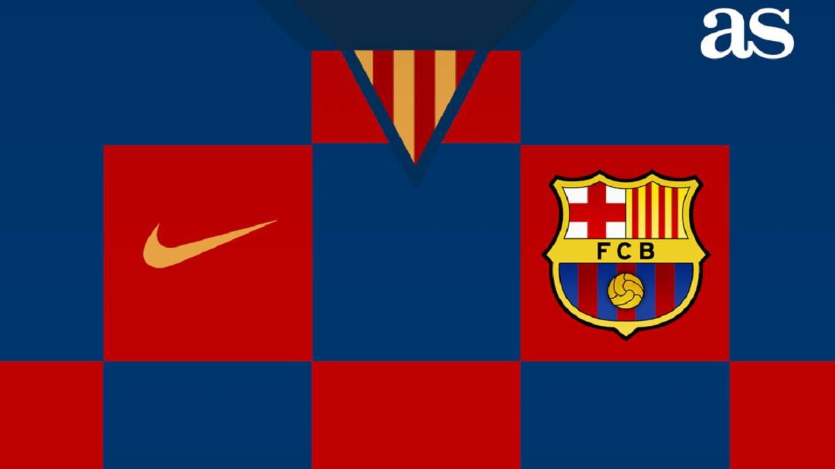 Barcelona 2019/20 shirt: Croatia-style checkerboard design?