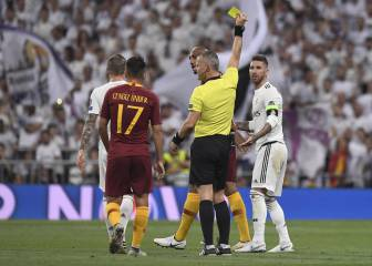 Ramos becomes Champions League's most booked player