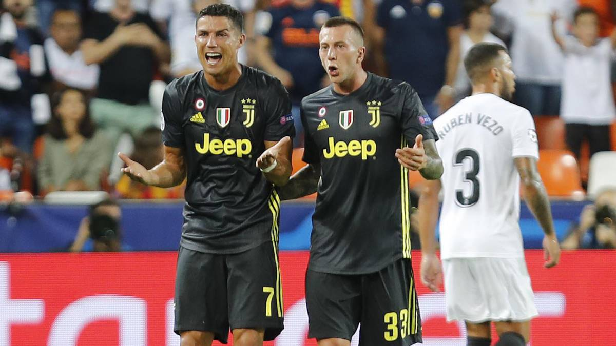 UEFA will decide Ronaldo's suspension on September 27th