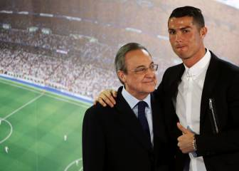 Florentino: 'Cristiano wanted to go; we got the most we could'