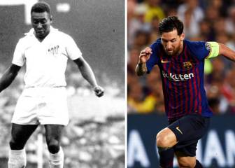 One-club goalscorers: Messi hot on Pelé's heels