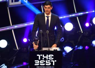 Courtois, el portero The Best