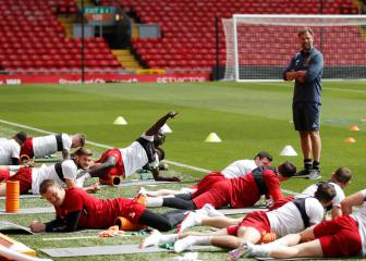 Liverpool players boosted by Klopp's secret isotonic potion