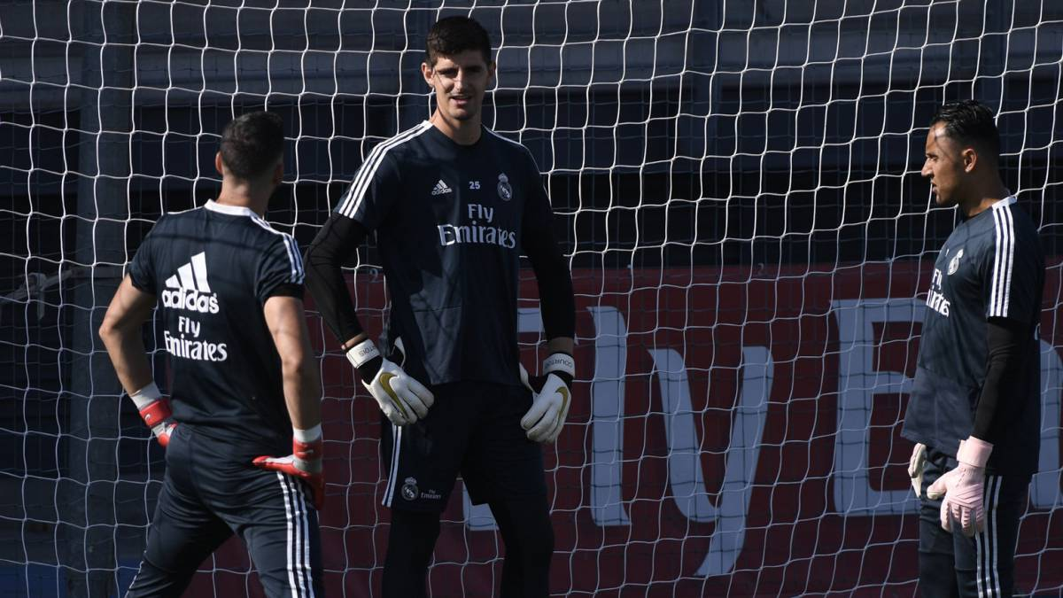 "Courtois: ""We don't have a set rotation policy in place for the goalkeepers"""