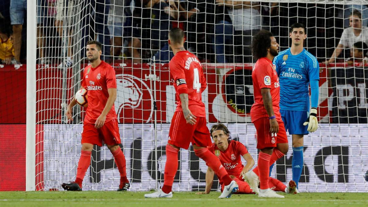 Sevilla 3-0 Real Madrid: Marcelo poor, Benzema didn't turn up...