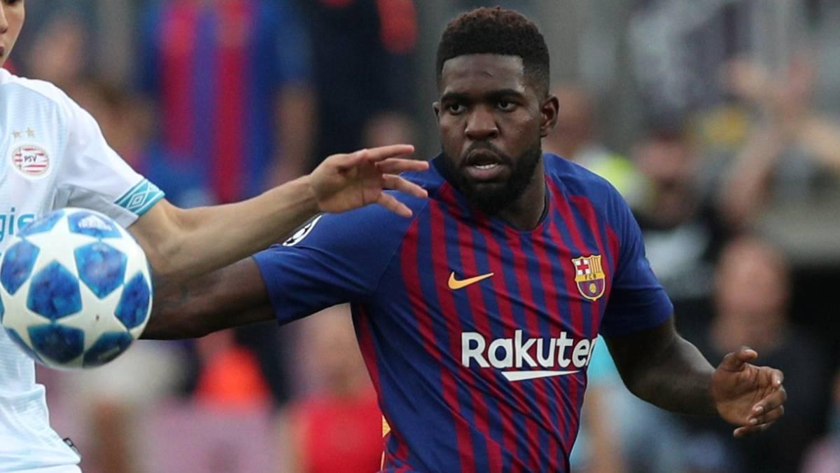 Alarma en el Barça: Umtiti, lesión grave en la rodilla
