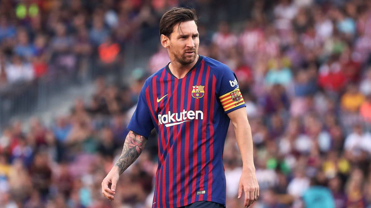 Messi ante el Athletic