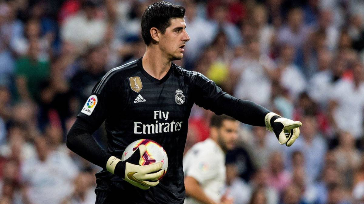 "Courtois: ""I'm not bad with the ball at my feet"""