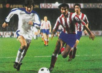 Club Brugge and Atlético's first meeting in March 1978
