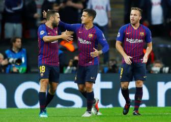 Coutinho makes Barça history in Champions League