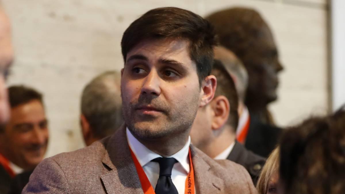 David Aganzo, presidente de la Asociación de Futbolistas Españoles.