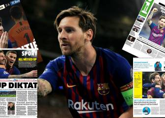 Inglaterra enloquece con Messi: no es The Best, es 'The Maestro'