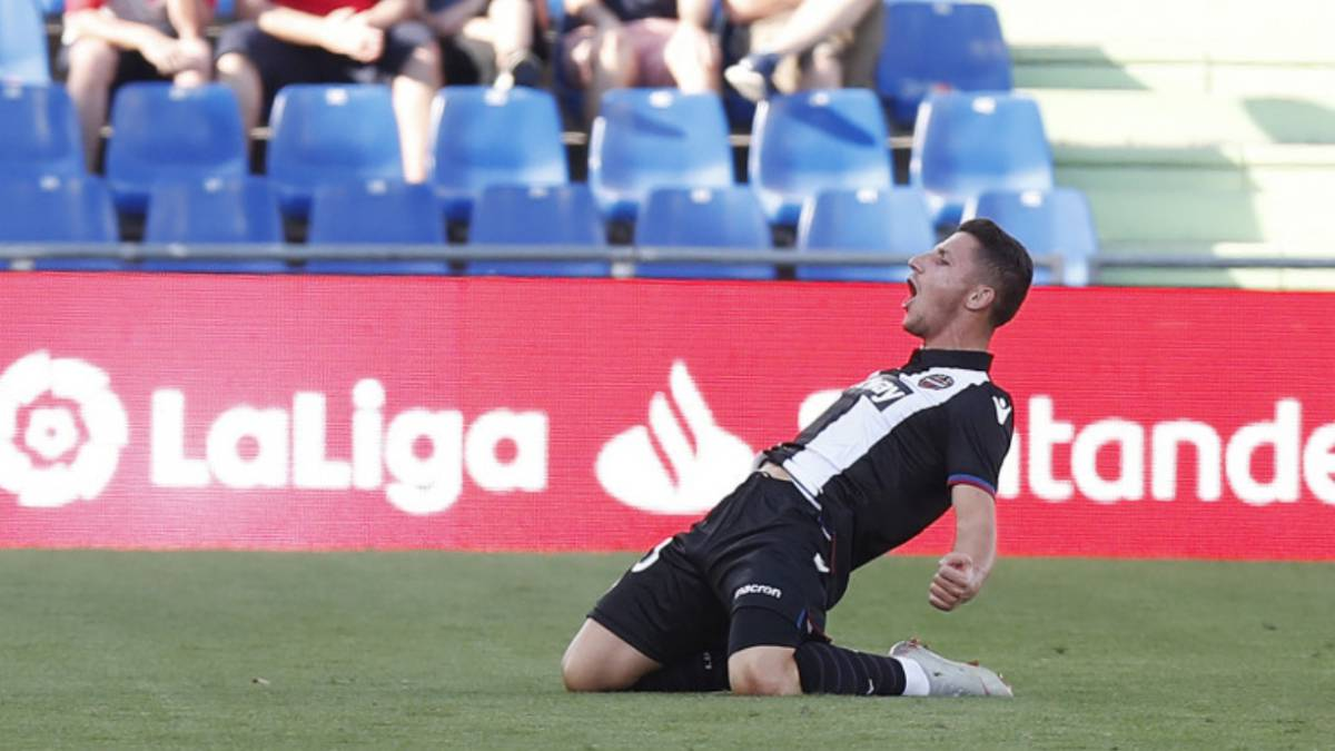 Getafe 0-1 Levante: resumen, gol y resultado del partido - AS.com
