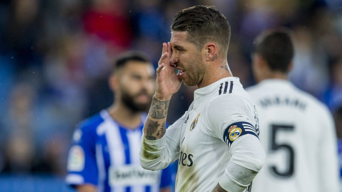 Image result for real madrid vs alaves ramos