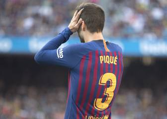 In pictures: the Piqué errors that have cost Barcelona dear