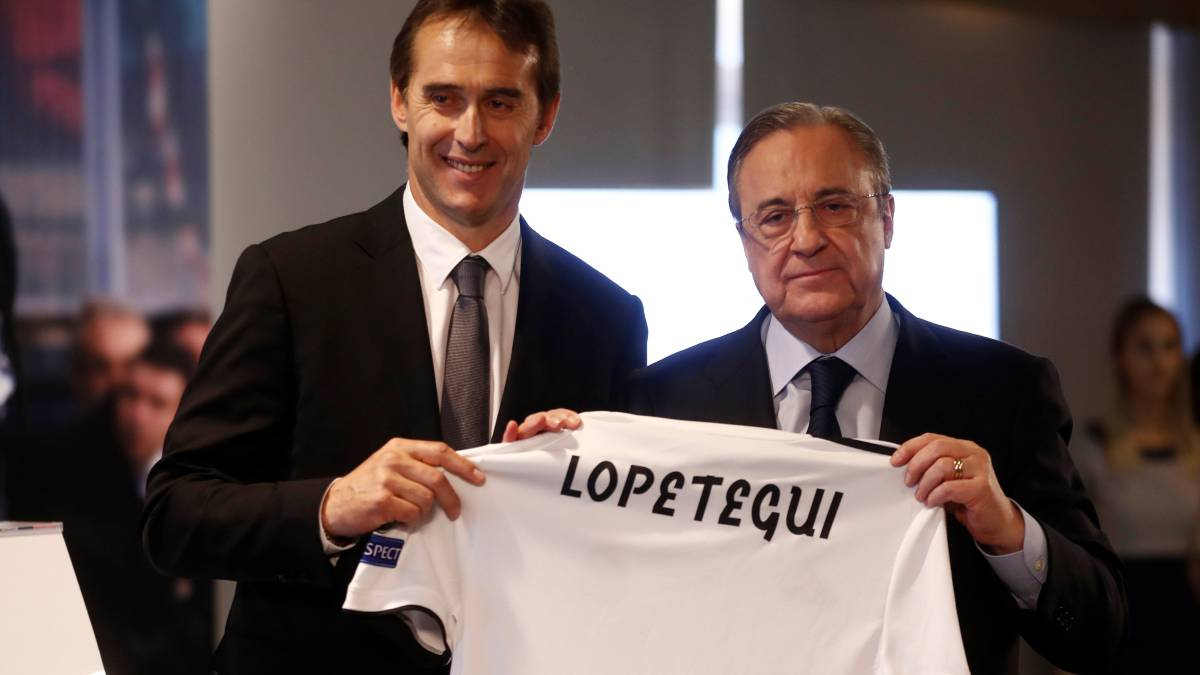 Florentino gave Lopetegui a ticking off before Alavés loss