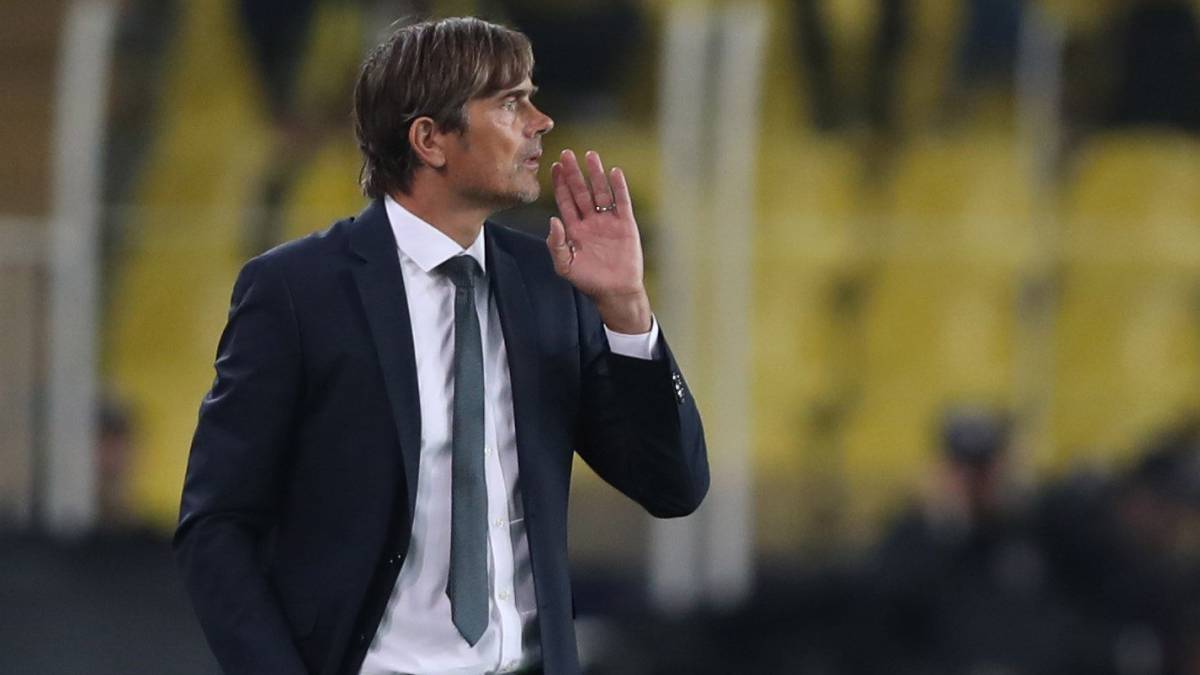 Cocu en la Europa League.