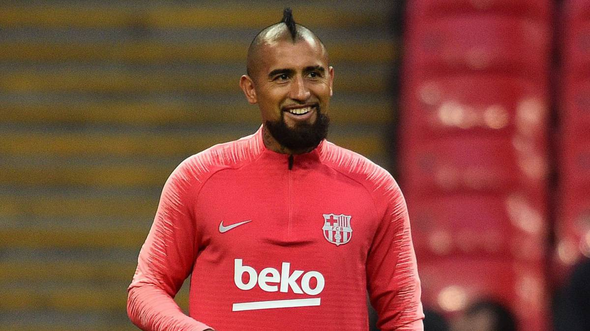 "Vidal: ""I am happy at Barcelona"""