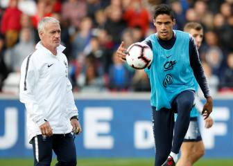 Real Madrid want Varane back after international duty injury